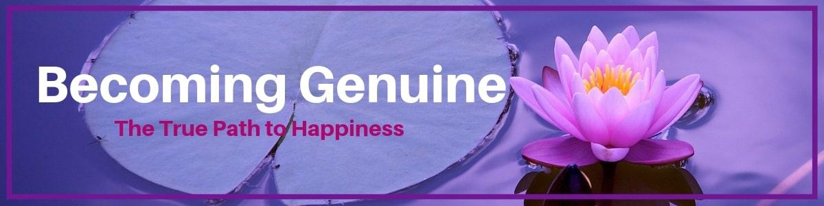 Becoming Genuine