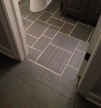 Luxury Bathroom Ideas floor grout renewal