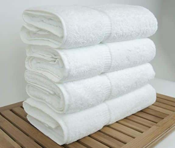 Luxury Bathroom Ideas hotel and spa towels folded