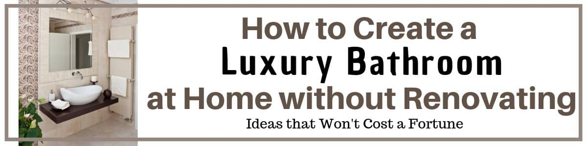 Luxury Bathroom Ideas to improve your home and give you the decor you want.