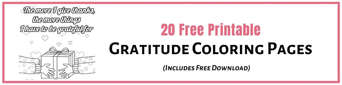 - Gratitude Coloring Pages (x20 Free Printable Sheets) To Help You Relax And  Feel Good