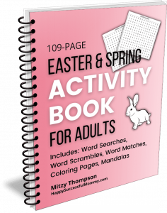 Easter and Spring Activity Book